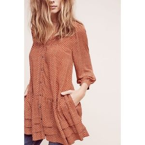 Anthropologie Holding Horses Pavin Tunic